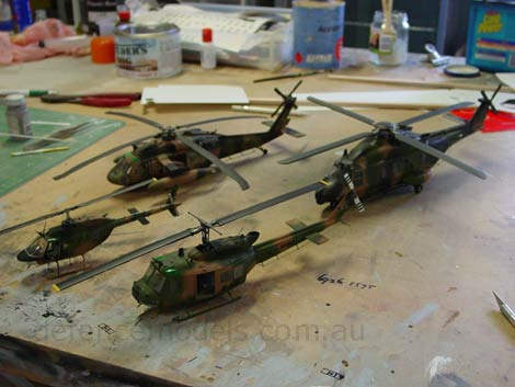 Army Aviation Models