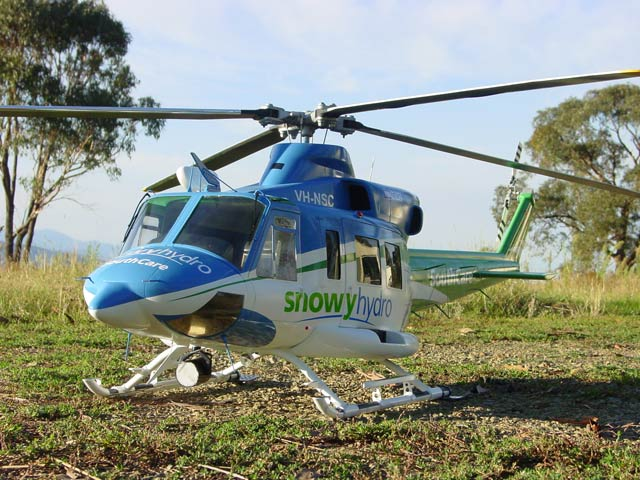 Snowy Hydro Southcare Bell 412SP