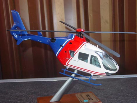 Helicopter Repainting for Australian Aerospace