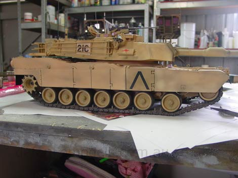 1:16 Radio Controlled M1A1 ABRAMS